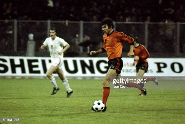 Wim van Hanegem of Holland during the European Championship between Czechoslovakia and Holland in Stadium Maksimir Zagreb Yugoslavia on 16th June 1976