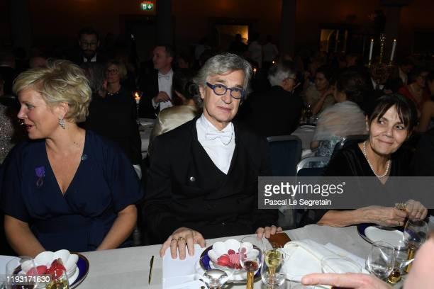 Wim Wenders attend the Nobel Prize Banquet 2018 at City Hall on December 10, 2019 in Stockholm, Sweden.