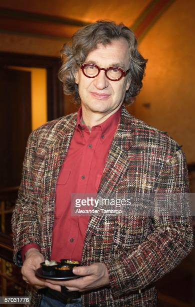 Wim Wenders attends the 2006 Miami International Film Festival at the Gusman Theatre on March 8 2006 in Miami FloridaThis year the festival honors...