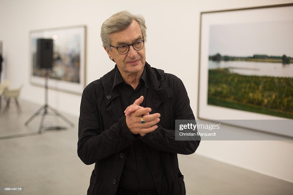 Wim Wenders 'Time Capsules. By the side of the road' Exhibition Preview In Berlin : News Photo