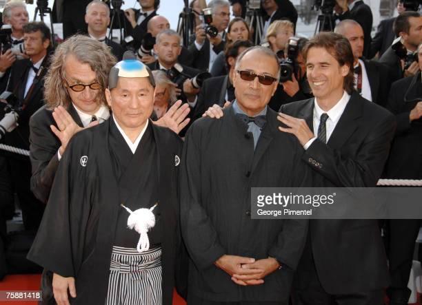 Wim Wenders Takeshi Kitano Abbas Kiarostami and Walter Salles