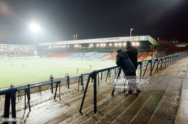 Wimbledon 13 Everton League match at Selhurst Park Tuesday 26th January 1993 Official attendance the lowest for a premiership match
