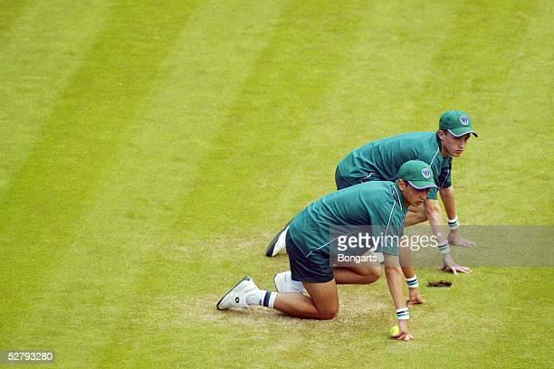 Wimbledon 2003 London Balljungen