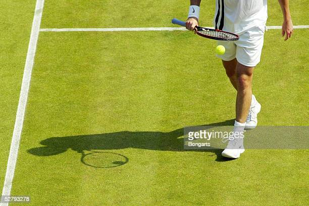 Wimbledon 2003, London; Maenner/Einzel; Illustration