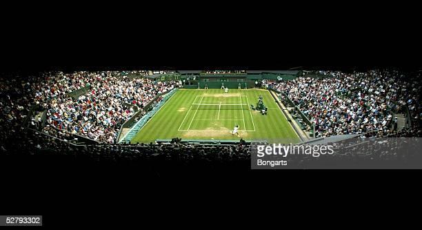 Wimbledon 2003, London; Maenner/Einzel; Uebersicht Center Court