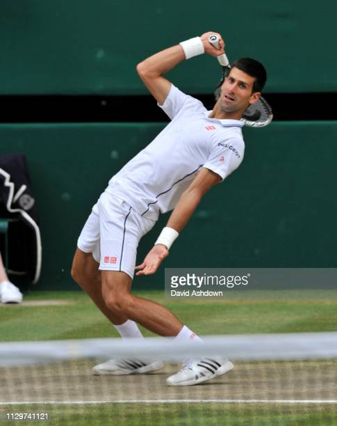 Wimbledon 2014 6/7/14 Mens final Novak Djokovic V Rodger Federer