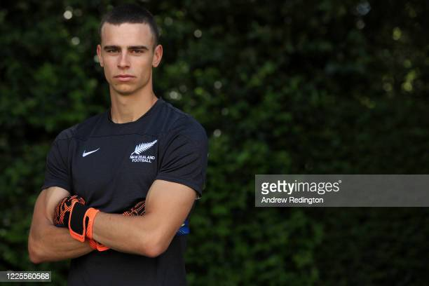 Wimbledon and New Zealand international goalkeeper Nik Tzanev takes part in a 1-on-1 ginga and capoeira video coaching session May 18, 2020 in Esher,...