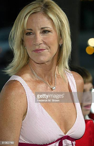 Wimbledon champion Chris Evert attends the world premiere of the Universal Feature 'Wimbledon' at the Academy of Motion Pictures Arts and Sciences on...