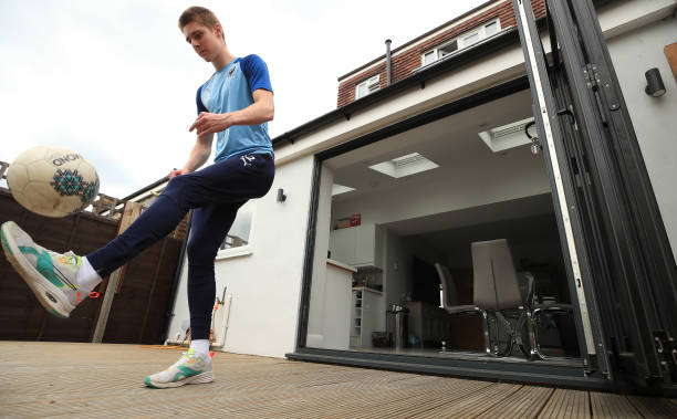 GBR: AFC Wimbledon Footballer Jack Rudoni Trains during the Coronavirus Pandemic