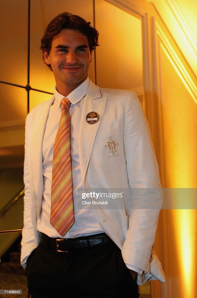 Wimbledon Mens Singles Champion Roger Federer of Switzerland attends the Wimbledon Winners' Dinner at the Savoy Hotel on July 9, 2006 in London, England.