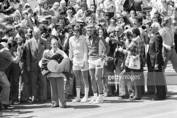 Wimbledon Tennis Championships 1977 Mens Final Centre Court Wimbledon Saturday 2nd July 1977 Reigning champion Bjorn Borg wins match in 5 sets 36 62...