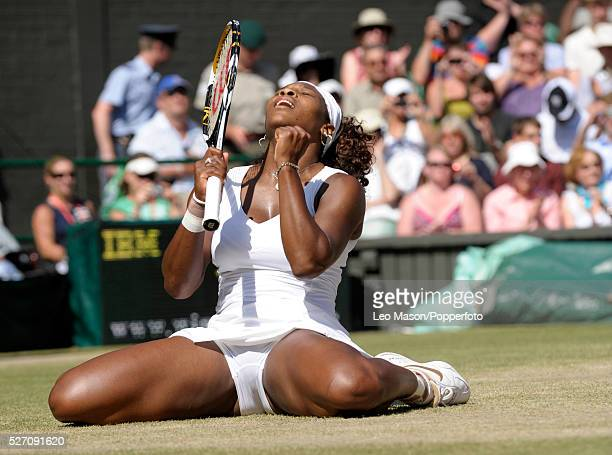 2009 AELTC Wimbledon Tennis Championships Ladies final Serena Williams USA Vs Venus Williams USA