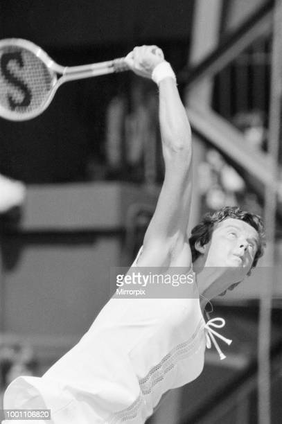 Wimbledon Tennis Championships Ladies Quarterfinals Day Monday 30th June 1975 our picture shows Betty Stove of The Netherlands
