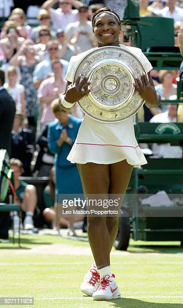 Wimbledon tennis Championships Wimbledon London UK Ladies Final Serena Williams USA Vs Vera Zvonareva RUS Miss Williams won in straight sets Serena...