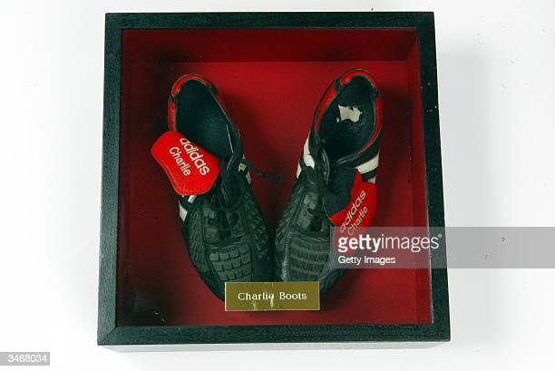 Wimbledon v Manchester United 1996 The boots that really put David on the map Before the game against Wimbledon at Selhurst Park on the opening day...