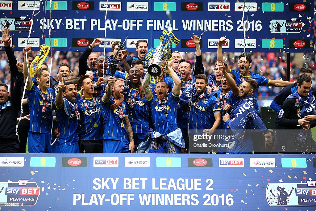Plymouth Argyle v AFC Wimbledon - Sky Bet League Two Play Off Final : News Photo