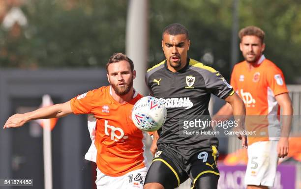 Wimbledon's Kwesi Appiah during the Sky Bet League One match between Blackpool and AFC Wimbledon at Bloomfield Road on September 2 2017 in Blackpool...