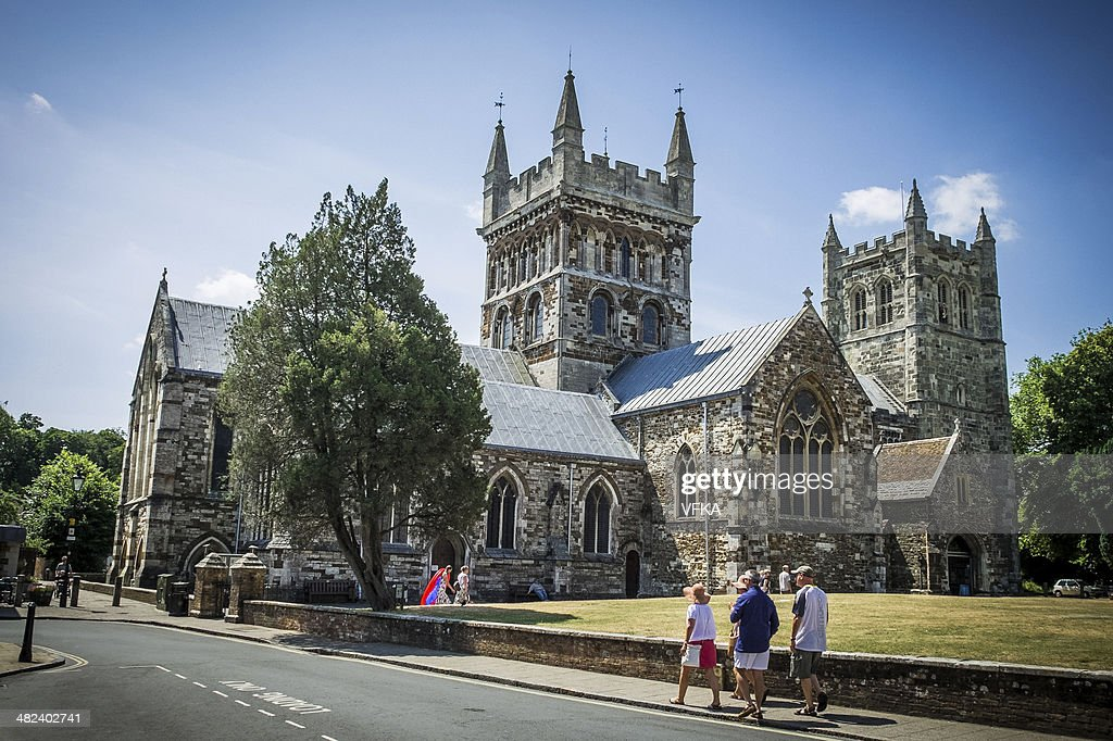 Wimborne Minster : Stock Photo
