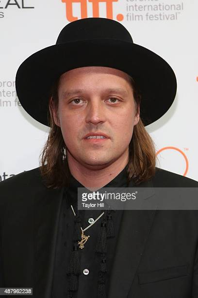 Win Butler of Arcade Fire attends a photocall for 'The Reflektor Tapes' during the 2015 Toronto International Film Festival on September 12 2015 in...