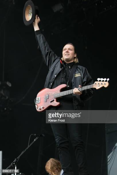Win Butler of Arcade Fire performs at Malahide Castle on June 14, 2017 in Dublin, Ireland.