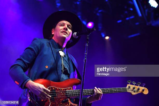 Win Butler of Arcade Fire performs on Downtown Stage during the 2018 Life Is Beautiful Festival on September 23 2018 in Las Vegas Nevada