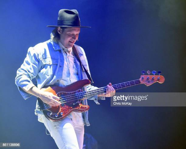 Win Butler of The Arcade Fire performs at Infinite Energy Arena on September 21 2017 in Duluth Georgia