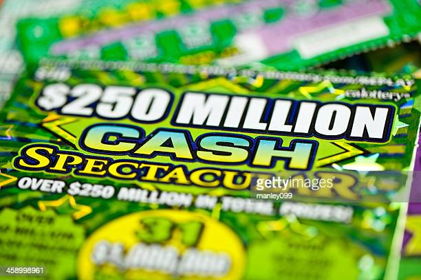 win cash $250 million dollars - lucky draw stock photos and pictures