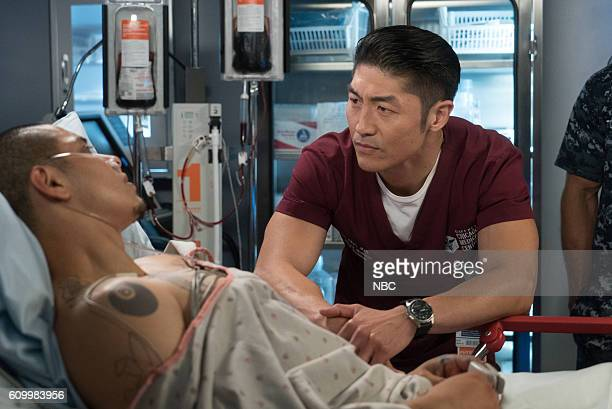 MED Win Loss Episode 203 Pictured Maynor Alvarado as Marco Brian Tee as Ethan Choi