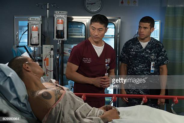 MED Win Loss Episode 203 Pictured Maynor Alvarado as Marco Brian Tee as Ethan Choi Alex Hernandez as Javier