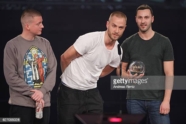 Z win the 1Live Krone at Jahrhunderthalle on December 1 2016 in Bochum Germany