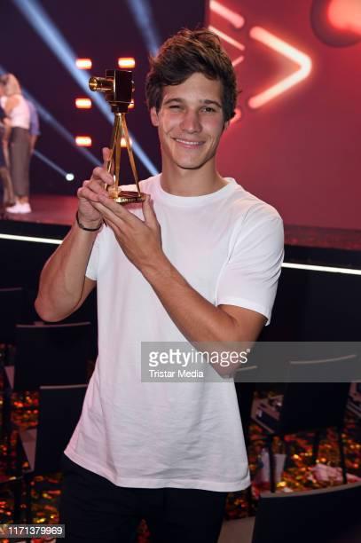 Wincent Weiss attends the YouTube Goldene Kamera Digital Awards at Kraftwerk on September 26 2019 in Berlin Germany