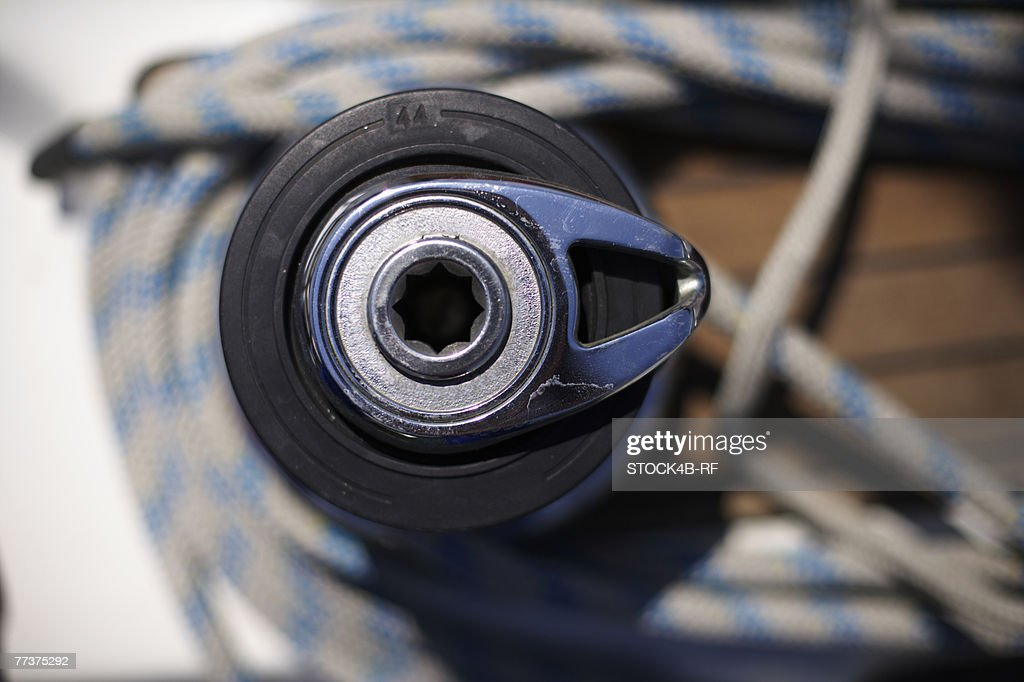 Winch, top view : Photo