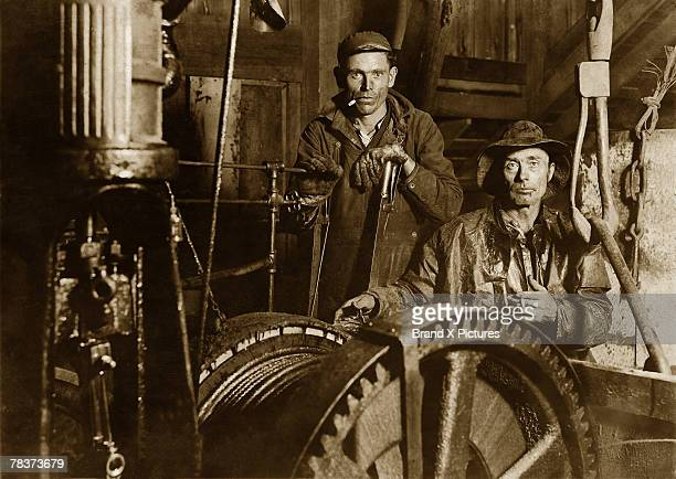 Winch workers