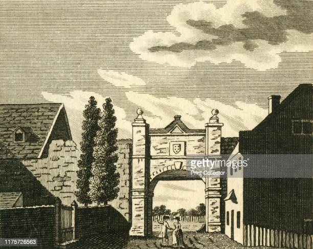 Wincheap Gate at Canterbury' circa 1786 Wincheap was one of eight gates which stood in the city walls at Canterbury in Kent It was erected circa 1548...