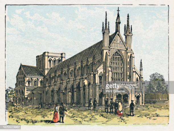 Winchester' circa 1910 'The Cathedral One of the most ancient towns in the kingdom Egbert was crowned here Brewing Malting Agricultural produce...