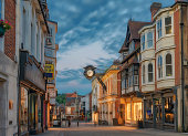 Winchester City centre in England
