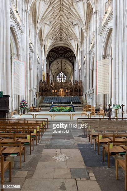 Winchester England Kathedrale Altar > english> Winchester England the cathedral of Winchester