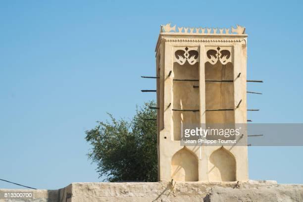Wind Catcher in Bandar-e-Laft, Qeshm Island, Persian Gulf, Hormozgan Province, Southern Iran