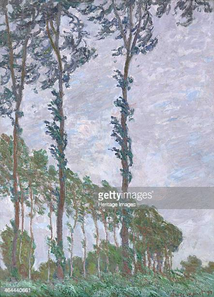 Wind Effect Series of The Poplars 1891 Found in the collection of the Musée d'Orsay Paris