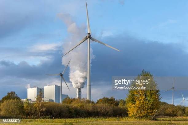 Wind en fossile energy