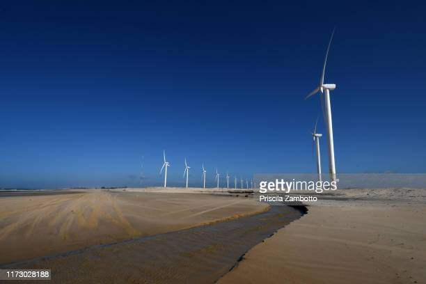 wind energy. paracuru, ceará, brazil - latin america stock pictures, royalty-free photos & images