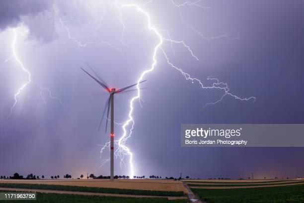 wind energy - wetter stock-fotos und bilder