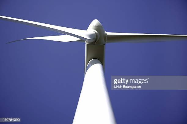 GERMANY KLANXBUELL Wind energy plant near Klanxbuell