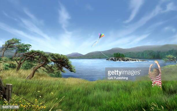 """Wind Even if we canÍt see it we can feel it around us""""fluttering in flags ruffling our hair and billowing boat sails Wind is created simply because..."""