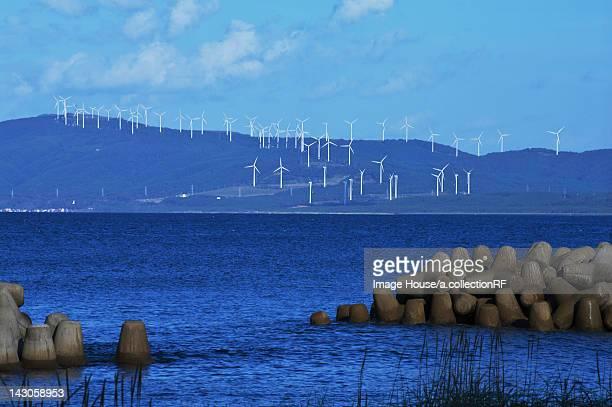 Wind Farm by Coast