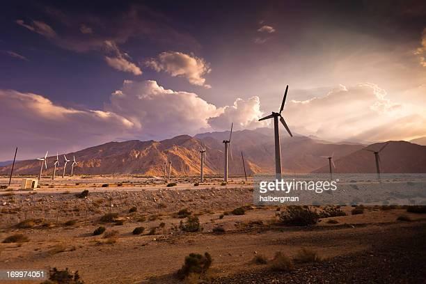 Wind Farm, Palm Springs, California