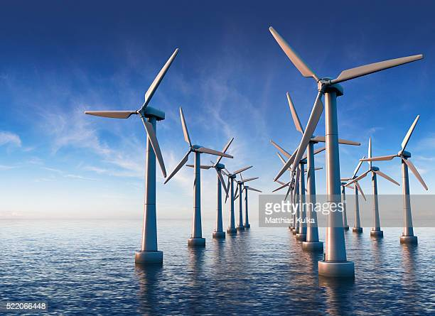 wind farm - 風力発電 ストックフォトと画像