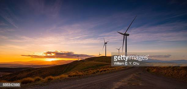 wind farm - wind power stock pictures, royalty-free photos & images