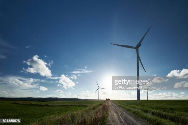 Wind farm & road