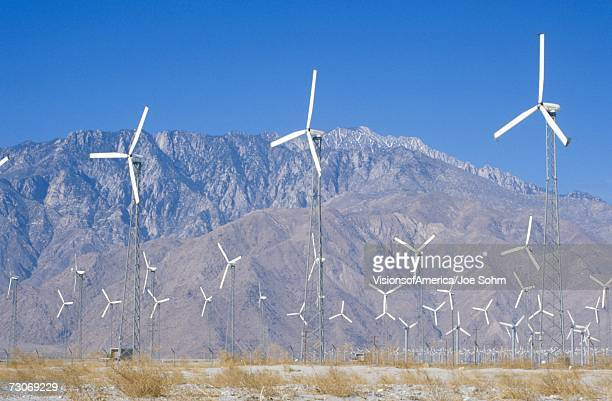 'Wind power at Palm Springs, CA'